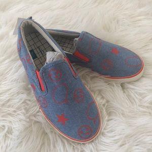 📓NWT📓 GAP ELLEN DEGENERES denim sneakers